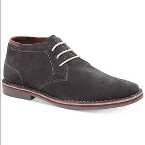 Kenneth Cole Reaction Desert Wind Gray Suede shoes